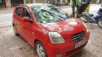 Gia đình bán xe Kia Morning AT đời 2005, màu đỏ, xe nhập, giá 159tr