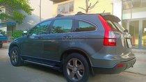Bán xe Honda CR V 2.4 AT 2009, màu xám, xe nhập số tự động, 495 triệu