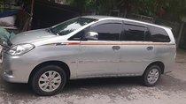Bán xe Toyota Innova G đời 2009, màu bạc xe gia đình