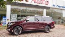 Bán Lincoln Navigator L Black Label 2019 màu đỏ đun, nội thất nâu đỏ, xe nhập khẩu nguyên chiếc mới 100% giao ngay
