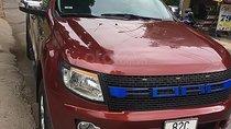 Bán Ford Ranger XLT 2.2L 4x4 MT đời 2014, màu đỏ, nhập khẩu nguyên chiếc, 430 triệu