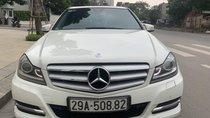 Bán xe Mercedes C200 đời 2012, màu trắng, 1 chủ từ đầu