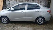 Cần bán gấp Hyundai Grand i10 sản xuất năm 2015, màu bạc, xe nhập