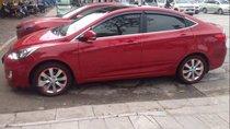 Bán Hyundai Accent 2012, màu đỏ, nhập khẩu, số tự động