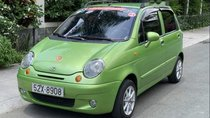 Bán Daewoo Matiz SE 2004, màu xanh lục, xe gia đình