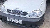 Bán ô tô Daewoo Lanos đời 2001, màu trắng, 5 vỏ còn mới 95%