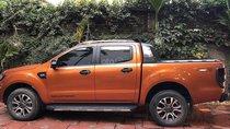 250tr nhận xe ngay, hỗ trợ trả góp 70%, Ford Ranger Wildtrak 3.2 4x4 2017, màu cam, xe nhập khẩu