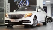 Bán Mercedes S450 Luxury 2019, màu trắng, giao ngay, vay trả góp 80% giá trị xe, lãi suất 0.77%/tháng cố định 3 năm