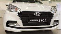 Hyundai Quảng Ngãi bán ô tô Hyundai Grand i10 sản xuất 2019, màu trắng, giá tốt