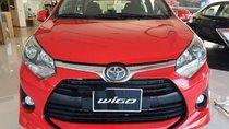 Bán xe Toyota Wigo 2019, màu đỏ, nhập khẩu nguyên chiếc