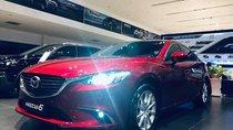 Bán xe Mazda 6 2019, màu đỏ, ưu đãi bảo hiểm thân vỏ 1 năm, hỗ trợ trả góp 90%