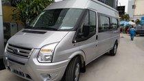 Bán Ford Transit giá tốt nhất thị trường, kèm hộp đen, lót sàn gỗ ghế 5d trần 5D. Vay 80% trả trước 200tr