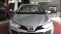 Bán xe Toyota Vios E năm sản xuất 2019, màu bạc