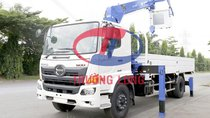 Xe tải cẩu 7 tấn, lắp cẩu Tadano 5 tấn   Hino Series 500 FG EURO 4