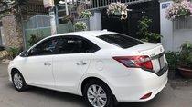 Bán Toyota Vios 2018 số tự động, màu trắng biển tp