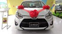 Cần bán xe Toyota Wigo 1.2AT năm sản xuất 2019, màu bạc, nhập khẩu