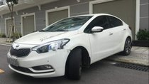 Cần bán lại xe Kia K3 2.0AT đời 2014, màu trắng, odo 46 ngàn km