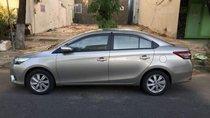 Cần bán xe Toyota Vios G đời 2017, màu bạc ít sử dụng