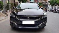 Peugeot 508 sản xuất 2015, nhập khẩu Pháp màu đen biển Hà Nội
