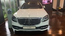 Bán xe Mercedes S450 luxury trắng/đen sx 2018 mới chính hãng siêu sang