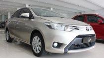 Cần bán Toyota Vios E đời 2017, màu bạc số tự động, 510 triệu