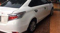 Bán ô tô Toyota Vios đời 2017, màu trắng chính chủ, giá tốt