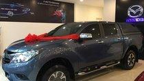 Bán Mazda BT 50 đời 2018, màu xanh lam, nhập khẩu