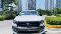 Bán Ford Ranger 2016 AT, màu trắng, nhập khẩu