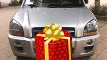 Cần bán gấp Hyundai Tucson đời 2009, màu bạc, nhập khẩu