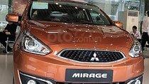 Bán Mitsubishi Mirage CVT Eco màu đỏ, số tự động, máy xăng 2019