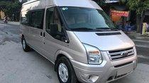Cần bán xe Ford Transit 2016 máy dầu số sàn, màu hồng phấn 16 chỗ