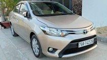 Bán Toyota Vios sản xuất 2017, màu vàng cát như mới, giá 465tr