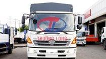 Xe mui bạt 3 chân bửng nhôm Nhật 14 tấn rưỡi   Hino 500 series FL Euro4, kèm khuyến mãi phụ kiện