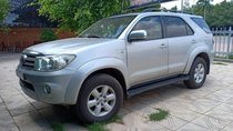 Cần bán lại xe Toyota Fortuner AT 2010, màu bạc, máy móc nguyên rin