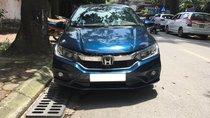 Bán ô tô Honda City Top 1.5 AT sản xuất năm 2017, màu xanh, biển Hà Nội
