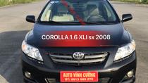 Cần bán xe Toyota Corolla 1.6 XLI sản xuất 2008, màu đen, nhập Nhật
