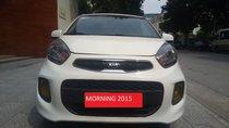 Cần bán Kia Morning năm sản xuất 2015, màu trắng, nhập khẩu nguyên chiếc