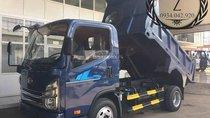 Bán xe ben tự đổ Teraco 240 ga cơ 2,5 khối 2 tấn vay cao