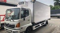 Giá xe tải Hino đông lạnh 6T thùng dài 5m6