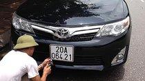Bán ô tô Toyota Camry XLE sản xuất 2012, màu đen, nhập khẩu nguyên chiếc chính chủ
