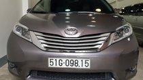 Bán xe Toyota Sienna Limited 3.5 AT AWD năm 2014, màu xám, nhập khẩu, full option