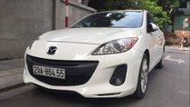 Bán Mazda 3 S sản xuất năm 2013, màu trắng, giá chỉ 455 triệu