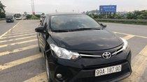 Bán Toyota Vios E 1.5MT đời 2017, màu đen như mới