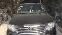 Bán Toyota Fortuner đời 2014, màu đen, xe gia đình