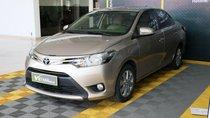 Bán ô tô Toyota Vios E 1.5AT đời 2017, màu nâu
