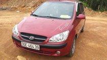 Cần bán gấp Hyundai Getz 2009, màu đỏ, xe nhập