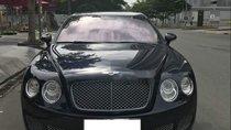 Bán Bentley Flying Spur model 2009, sản xuất 2007, màu xanh đen, 5 chỗ, nội thất da màu kem