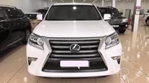 Bán Lexus GX460 Nhập Mỹ, màu trắng, sản xuất 2015, đăng ký 2017, bản full, xe siêu mới