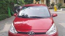 Cần bán Hyundai Grand i10 năm 2016, màu đỏ, xe nhập, giá chỉ 379 triệu