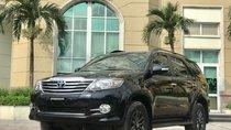 Bán Toyota Fortuner 2.7 V 4x2AT 2016, màu đen
